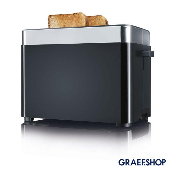 Graef-Broodrooster-TO62-Zwart-Brood